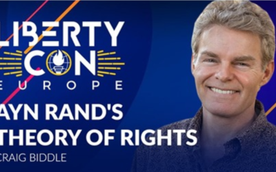 Ayn Rand's Theory of Rights at ESFL's LibertyCon 2020 in Madrid